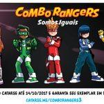 Combo Rangers #3 no Catarse